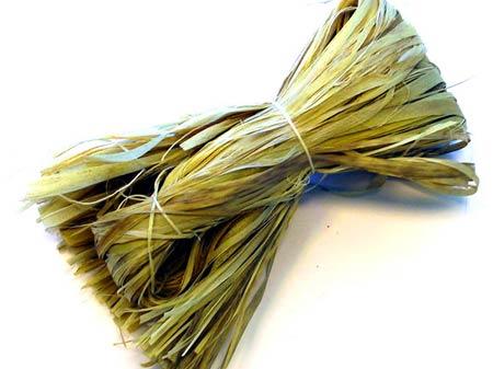 Мочало из липовой коры. Сырьё для плетения мебели и аксессуаров