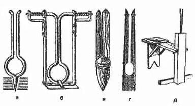 Щемилки для окорки ивового прута