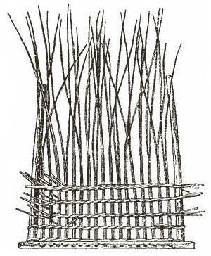 Рис. 5. Плетение веревочкой