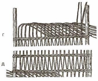 Образцы простого ажурного плетения