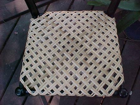 плетения макраме кресло схема.
