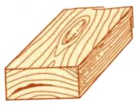 Пороки древесины. Кармашки